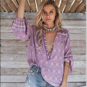 Spell Medium Oracle Blouse Lavender 💜